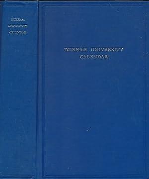 University of Durham Calendar 1967 - 68: University of Durham