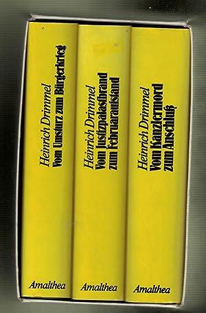Die Osterreich Trilogie. 1918 - 1927; 1927 - 1934; 1934 - 1938. 3 volume set in slipcase: Drimmel, ...