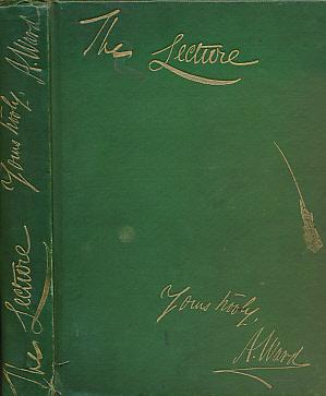 Artemus Ward's Lecture: Robertson, T W; Hingston, E P [eds.]