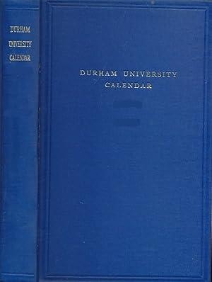 University of Durham Calendar 1958 - 1959. Volume II - Regulations: University of Durham