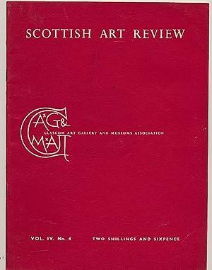 The Scottish Art Review. 1953 Volume IV.: Glasgow Art Gallery