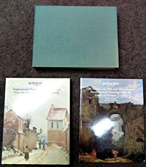 Impressionist and Old Master Paintings. Estate of Florence J Gould. April 1985. 2 volume set: ...