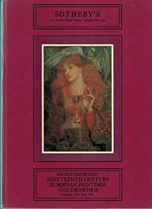Highly Important Nineteenth Century European Paintings and Drawing. June 1981: Sotheby's