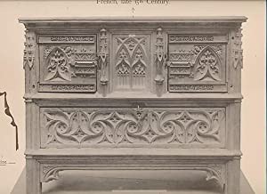 French Wood Carvings from the National Museums. 3 series in one volume: Rowe, Eleanor