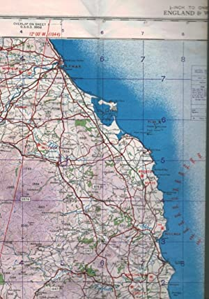 Ordnance Survey Map of Great Britain. Air Sheet 1. The Border. 2nd War Revision. 1944: Ordnance ...
