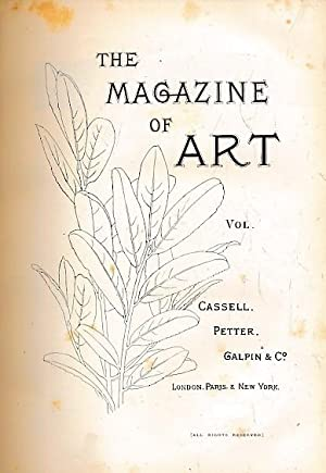 The Magazine of Art. Volume V. 1882: Cassell