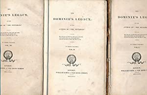 The Dominie's Legacy. 3 volume set: Picken, Andrew]