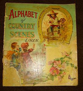 Alphabet of Country Scenes: McLoughlin Brothers