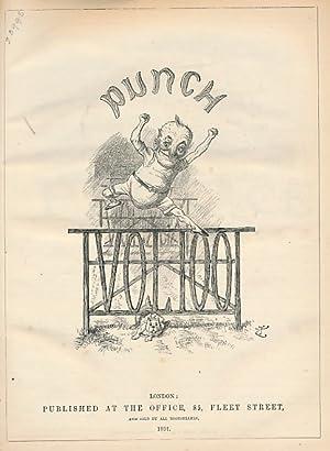 Punch, Or the London Charivari. Jan - June 1891 Vol. 100: Mr Punch