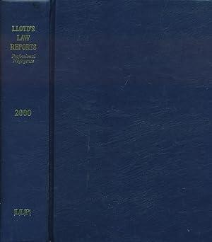 Lloyd's Law Reports: Professional Negligence 2000: Simpson, Mark [ed.]