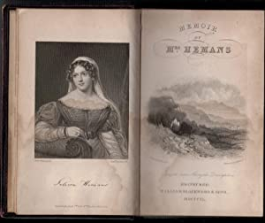 Memoir of the Life and Writings of Mrs Hemans: Owen, Harriet Mary Browne ]; [Hughes, Harriet]