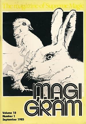 The Magigram. Volume 18 No. 1. September: de Courcy, Ken