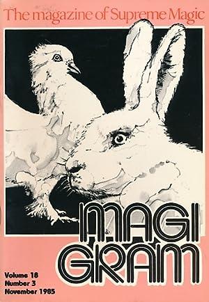 The Magigram. Volume 18 No. 3. November: de Courcy, Ken