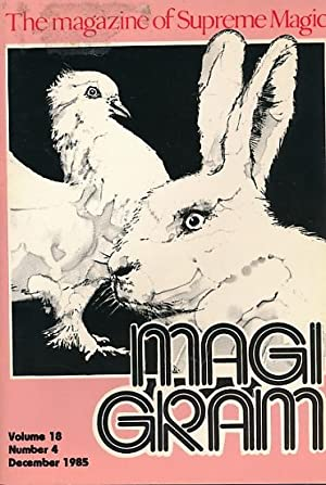 The Magigram. Volume 18 No. 4. December: de Courcy, Ken