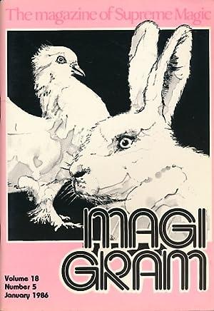 The Magigram. Volume 18 No. 5. January: de Courcy, Ken