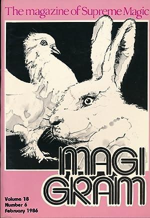 The Magigram. Volume 18 No. 6. February: de Courcy, Ken