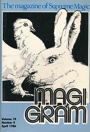 The Magigram. Volume 18 No. 8. April: de Courcy, Ken