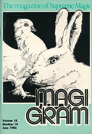 The Magigram. Volume 18 No. 10. June: de Courcy, Ken