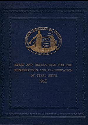 Lloyd's Register of Shipping. Rules and Regulations: Lloyd's
