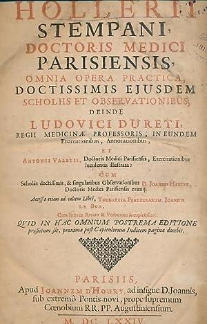 Omnia Opera Practica,Doctissimis Ejusdem Scholiis et Observationibus, Deinde Ludovici Dureti. et ...