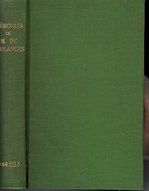 Mémoires de M. de Coulanges, Suivis de: Coulanges, M de;
