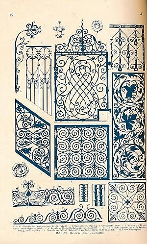 Die Konstruktionen und die Kunstformen der Architektur. Band IV. II. Halbband. Eisen und Bronze: ...