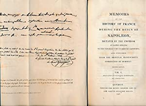 Memoirs of the History of France During the Reign of Napoleon Dictated by the Emperor Himself at ...