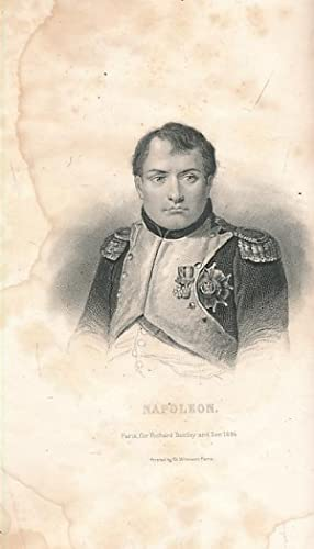 The Private Life of Napoleon. Two volume set: Levy, Arthur; Simeon, Stephen Louis [transl.]