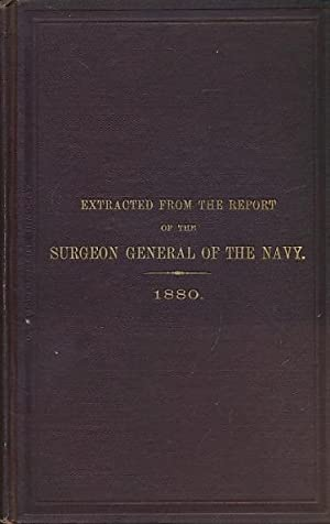 Navy Department. Bureau of Medicine and Surgery. Report on Yellow Fever in the U.S.S. Plymouth in ...