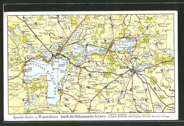 Holsteinische Schweiz Karte.Karte Der Schweiz Manuskripte Papierantiquitäten Zvab