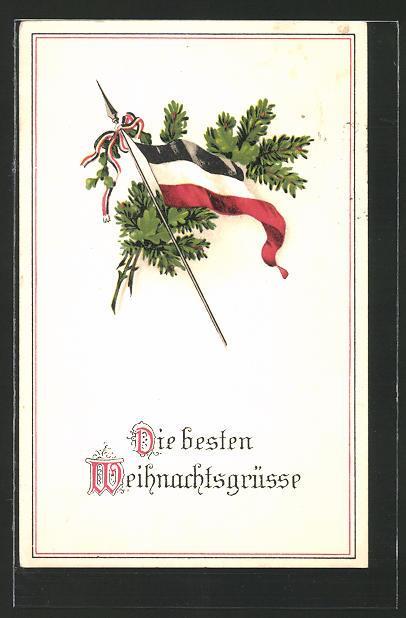 Weihnachtsgrüße Deutsch.Ansichtskarte Weihnachtsgrüsse Deutsches Zvab