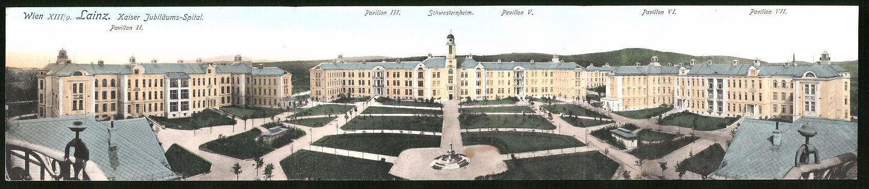 Ansichtskarte Wien Lainz Spital Zvab