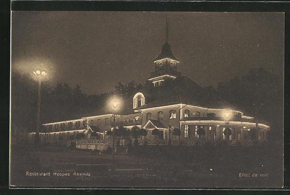 Ansichtskarte Bern, Schweizerische Landesausstellung 1914, Restaurant Hospes