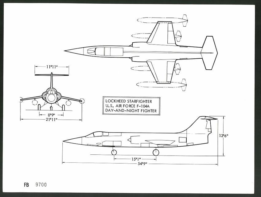 Sammeln & Seltenes Fotografie Flugzeug Lockheed F-104 Und Andere Flugzeuge Im Formationsflug