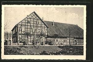 Ansichtskarte Lutterloh, Gasthaus zum Lotharstein