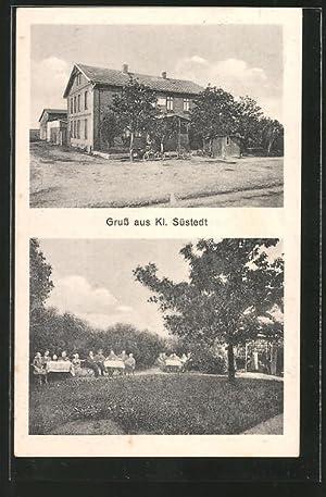 Ansichtskarte Kl. Süstedt, Gasthaus von Albert Lutterloh