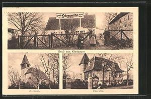 Ansichtskarte Kienbaum, Wirtschaft und Lebensmittel Marie Domke,