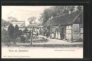 Ansichtskarte Güby, Schlossgärtnerei Louisenlund