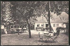 Ansichtskarte Güby, Gasthof Etablissement Louisenlund