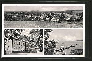 Ansichtskarte Fleckeby, Schloss Louisenlund, Partie an der