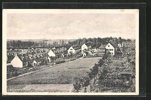 Ansichtskarte Kitzscher, Blick in die Siedlung