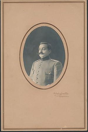 Fotografie Sebah, Joaillier, Constantinople-Konstantinopel, Portrait türkischer Offizier