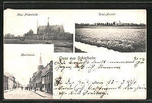 Ansichtskarte Schiefbahn, Hochstrasse, Haus Niederheide, Totalansicht