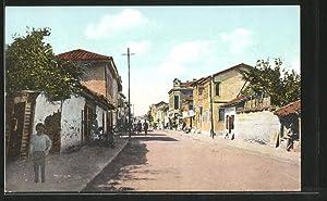 Ansichtskarte Skoplje / Ueskueb, Blick in die