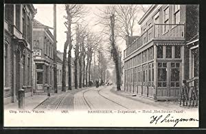 "Ansichtskarte Sassenheim, Dorpstraat, Hotel ""Het Bruine Paard"""
