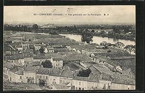 Carte postale Libourne, Vue Generale sur la