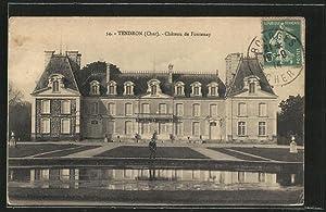 Carte postale Tendron, Chateau de Fontenay