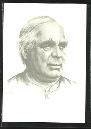 Künstler-Ansichtskarte Portrait von Sebastian Kneipp, Künder der