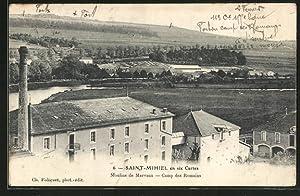 Carte postale Saint-Mihiel, Moulins de Marvaux, Camp