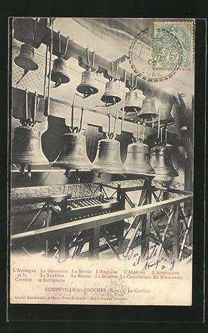 Ansichtskarte Corneville-les-Cloches, Le Carillon, Glockenspiel